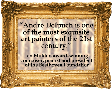 Andr� Delpuch is one of the most exquisite art painters of the 21st century.